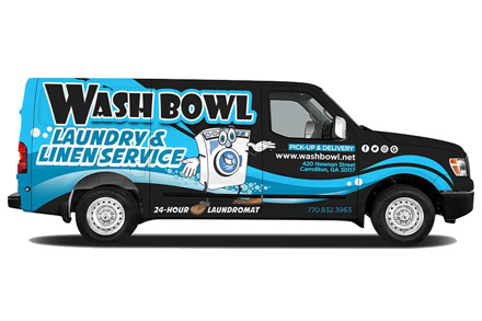 Wash Bowl Van Side